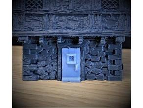 porta 28mm scala medievale tudor stile wargaming Casa 25mm 28mm 30mm 32mm dnd porta porta fantasia gioco mini gioco guerra giochi guerra wargaming