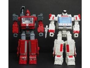Transformer Belagerung Ratsche Eisenhaut Füße Transformer Transformer Belagerung