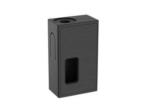 mecânico squonker quadrado versão 18650 510 999 caixa Boxmod conector delta delta projetos faça ecig ecigarette placa frontal alimentador ímãs mech mecânico mod prata squonker vaporizar Cigarro eletrônico