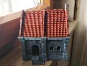ulvheim Villetta diviso magnetizzato 28mm edificio dnd dungeon draghi miniatura warhammer