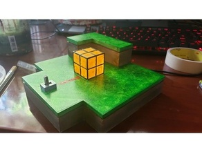 Minecraft Pierre rouge lampe diorama