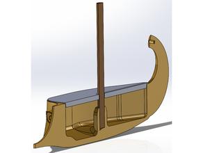 trirreme brinquedo barco barco grego romano brinquedo brinquedo barco