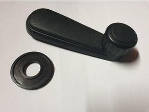 distanciando manivela janela vw golfe 2 pólo Jetta 4mm 5mm espaçador distância anel