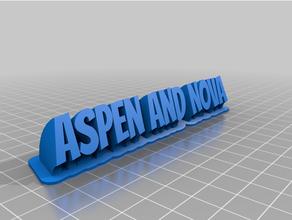 Novanad aspersonnalisé balayage 2 line assiette texte personnalisé