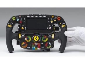 ferrari f1 sf90 wheel f150 ferrari formula1 formula 1 g29 logitech g29 ps4 ps4 controller sf90 simracing volante