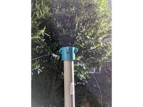 32mm PVC tubo anexo Customizável openscad antena boné Customizável Guywire mastro mestre PVC PVC tubo suporte ziptie