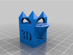 loco xyz calibración cubo calibrar calibración castillo loco cubo extremo gracioso impresora calibración preparar preparar bloquear xyz yxz