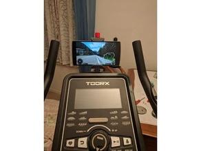 toorx brx-300 bike phone mount bicycle bike exercise bike freecad modular modular mount mount phone phone mount toorx