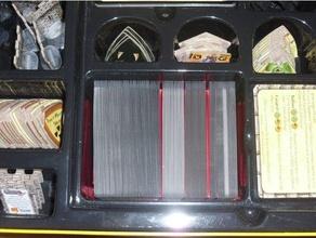 castillo pánico grande box card organizador juego mesa juegos mesa juego mesa inserciones juego mesa organizador