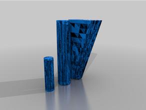 structable columnas explotado terreno columnas gubbins pilares terreno