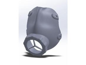 covid 19 viso maschera filtro
