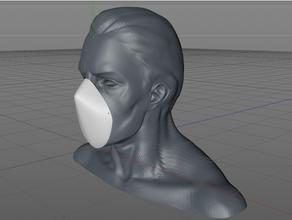 fácil cara máscara coronavirus COVID 19 cara máscara máscara aire aire contaminación covid 19