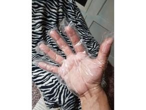 laser mano guanto protezione mano covid 19