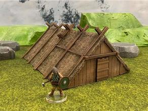 maloca 28mm32mm 30mm sigmar jogos tabuleiro dnd masmorras masmorras dragões fantasia Frostgrave jogos jogos jogos histórico casa casas maloca medieval miniaturas Mordheim Mordheim terreno mitologia nórdico