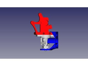 prusa ventilador suporte budaschnozzle resfriamento duto resfriamento ventilador ventilador Hotend resfriamento Hotend ventilador prusa prusa i3