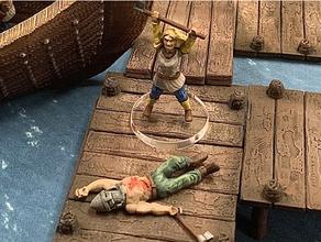 caído viking 28mm 30mm 32mm sigmar jogo tabuleiro jogos tabuleiro dnd masmorras masmorras dragões fantasia Frostgrave jogos jogos jogos histórico medieval miniatura miniaturas Mordheim Mordheim terreno nórdico