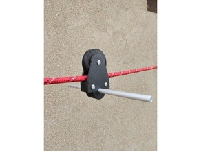 tirolesa fecho eclair corda 10 mm Tirolesa corde 10 mm