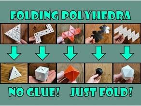 pliant polyèdres cube dé dnd dodécaèdre hexaèdre icosaèdre octaèdre polyèdres polyèdre pyramide tétraèdre triangulaire pyramide