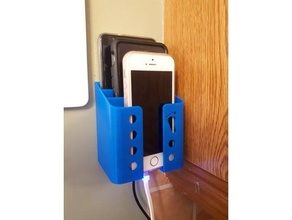 wall 3 phone charging station cellphone charging dock iphone mount phone smartphone station  wall