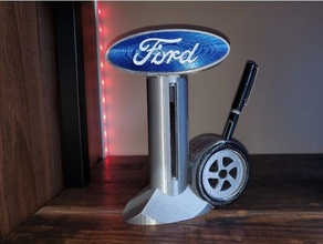 ford sign pen business card holder business card holder card holder desktop card holder desktop ford sign desktop pen holder ford ford pen holed ford sign pen business card pen holder rotating ford sign