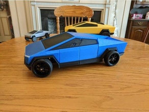 tesla cybertruck corps openrc f1 rc course voiture