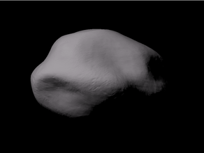 89 julia scaled 89 julia asteroid asteroids astronomia astronomy julia main asteroid belt main belt asteroid matlab scale scaled model scale model solar space topography