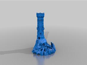 cráneo isla castillo atento torre torre castillo torre dnd dnd apuntalar isla atento torre