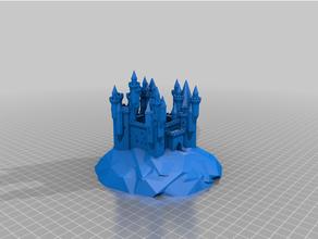 personalizado grandioso castillo difícil generador rocas personalizado