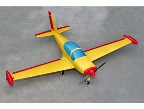 siai marchetti sf260 prueba 3d impresión avion rc maqueta marchetti radio control radio controlar rc avión escala sf 260 siai