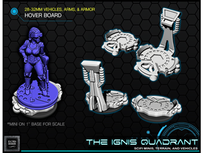 hoverboards 28 32mm jogos Ignis quadrante 28mm infinidade miniatura scifi Estrela guerras Estrela guerras legião tampo mesa martelo guerra 40k