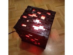 Minecraft lampe cube lampe lumière Minecraft
