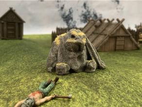 trollstone 4 28mm 30mm 32mm jogos tabuleiro dnd masmorras masmorras dragões fantasia Frostgrave jogos jogos jogos gigantes jotun miniatura miniaturas Mordheim Mordheim terreno nórdico Mitologia nórdica descobridor polimodular