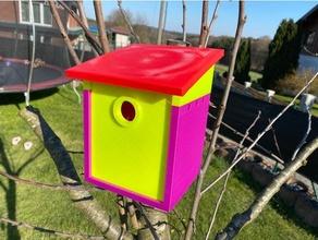 nistkasten birdhouse nesting box assemble assembly bird birdhouse bird house nesting nestingbox nesting box nistkasten