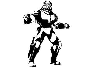 clone vigore 99 stencil male lotto clone clonewars clone vigore 99 disney Lucasarts Guerre stellari stella guerre