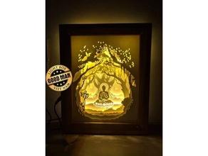 luminária buda ligthbox buda caja litofania luminária luminária buda lampara lampara buda lâmpadas conduziu luminária conduziu luz luz caixa litofano litofano caixa litofania portalamparas
