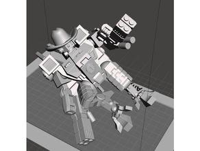 yeehaw-star commander 40k commander cowboy robot tau warhamer warhammer40k warhammer 40k