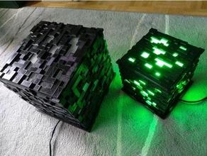 Minecraft lampe petite version teinte lampe lumière Minecraft philips teinte
