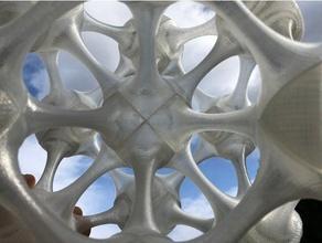 effilé tube isotrope vecteur matrice construction cuboctaèdre octaèdre rhombique dodécaèdre spiralé tétraèdre vecteur équilibre