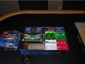 star trek ascendancy organizer - expansions boardgame boardgames boardgame inserts boardgame organizer