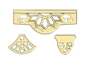 scolpito arredamento angolo 3 arte scolpito angolo arredamento decorare decorazione goldmund modello solomonlq xcarve
