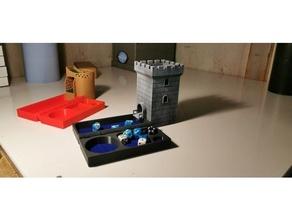 torre 2 d d caja dados dd torre dados torre mazmorras dragones