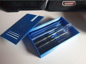 boîte outils réparation trousse téléphone intelligent réparation trousse boîte vis