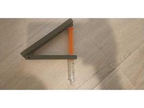syringe10cc Hand Pusher 4 dr grüner 10cc cr 10 Gewehr medizinisch Pusher Synergie
