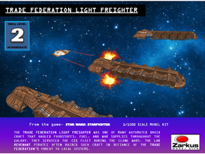 trade federation light freighter droid freighter star wars star wars legion trade federation zarkus zarkus model kits