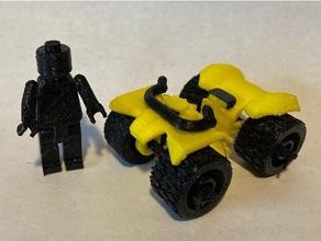 mini figure 4 wheeler 4 wheeler action figures atv corvette desk toy figure figures wheeler miniature orv toy toys