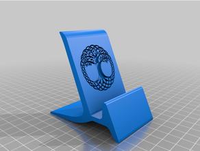 phone holder yggdrasil holder iphone organization phone stand vikings pattern yggdrasil