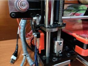 z axis limit değiştirmek support rise geeetech i3 kolay geeetech limit değiştirmek pla profesyonel Prusa i3 kırmızı Rosso destek değiştirmek Yükselt z axis
