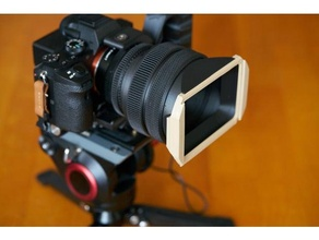 square lens hood customized type & 100 100mm square filter holder filter holder square filter square holder square hood
