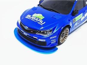 bumper kyosho mini-z awd subaru impreza wrc rc car 1 24 impreza kyosho lasercut miniz mini rc car subaru subaru impreza