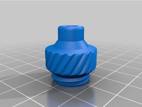 tff bowden tube fitting remix mk2 dust filter filament filament dust filter prusa mini